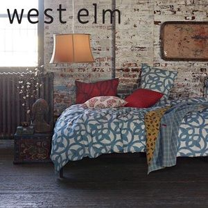 West Elm Organic Ironwork Eruo Pillow Sham